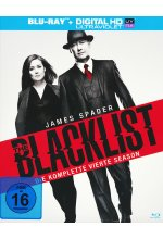 The Blacklist - Season 4  [6 BRs] Blu-ray-Cover