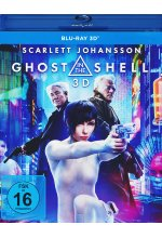 Ghost in the Shell Blu-ray 3D-Cover
