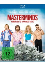 Masterminds - Minimaler IQ, maxmimale Beute Blu-ray-Cover