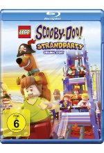 Scooby-Doo - Strandparty Blu-ray-Cover