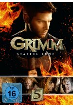 Grimm - Staffel 5  [5 DVDs] DVD-Cover