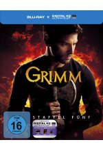 Grimm - Staffel 5 - Limitiertes Steelbook [5 BRs] Blu-ray-Cover