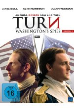 Turn - Washington's Spies - Staffel 3  [4 DVDs] DVD-Cover