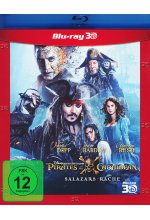 Pirates of the Caribbean 5 - Salazars Rache Blu-ray 3D-Cover