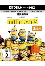 Minions  (4K Ultra HD) (+ Blu-ray 2D) Cover