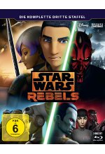 Star Wars Rebels - Die komplette dritte Staffel  [3 BRs] Blu-ray-Cover