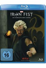 Marvel's Iron Fist - Die komplette 1. Staffel  [4 BRs] Blu-ray-Cover