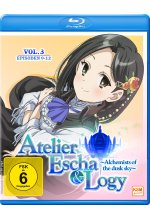 Atelier Escha & Logy - Alchemists of the dusk sky - Volume 3/Episoden 09-12 Blu-ray-Cover