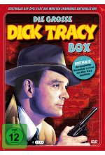 Dick Tracey - Deluxe - Metallbox  [4 DVDs] DVD-Cover
