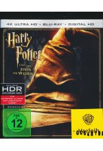 Harry Potter und der Stein der Weisen  (4K Ultra HD) (+ Blu-ray)<br> Cover