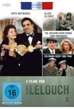 Cinema Classique Claude Lelouch - Box 3  [4 DVDs] DVD-Cover
