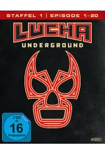 Lucha Underground 1.1 - Episode 1-20  [4 BRs] Blu-ray-Cover