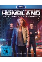 Homeland - Season 6  [3 BRs] Blu-ray-Cover
