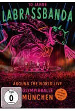 LaBrassBanda - Around the World Live - 10 Jahre LaBrassBanda  [2 DVDs] DVD-Cover