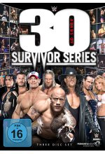 WWE - 30 Years of Survivor Series  [3 DVDs] DVD-Cover