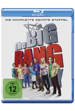 The Big Bang Theory - Staffel 10  [2 BRs] Blu-ray-Cover