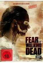 Fear the Walking Dead - Die komplette dritte Staffel - Uncut  [4 DVDs] DVD-Cover