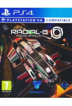 Radial-G - Racing Revolved (PlayStation VR) (PEGI) Cover