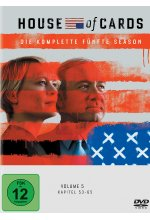 House of Cards - Season 5  [4 DVDs] DVD-Cover
