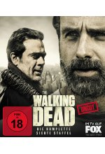 The Walking Dead - Die komplette siebte Staffel - Uncut  [6 BRs] Blu-ray-Cover