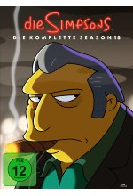 Die Simpsons - Season 18  [4 DVDs] DVD-Cover
