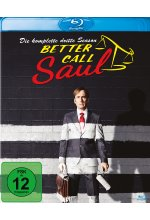 Better Call Saul - Die komplette dritte Staffel  [3 BRs] Blu-ray-Cover