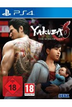 Yakuza 6 - The Song of Life (Launch Edition) Cover