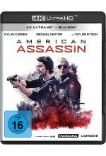American Assassin  (4K Ultra HD) (+ Blu-ray 2D) Cover