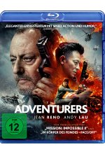 The Adventurers Blu-ray-Cover