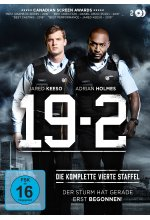19-2 - Staffel 4  [2 DVDs] DVD-Cover