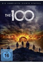 The 100 - Die komplette 4. Staffel  [3 DVDs]<br><br> DVD-Cover