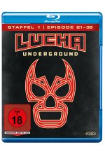 Lucha Underground 1.2 - Episode 21-39  [4 BRs] Blu-ray-Cover