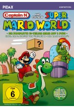 Captain N and the new Super Mario World / Die komplette 10-teilige Serie inkl. Staffel 3 von CAPTAIN N (Pidax Animation) DVD-Cover