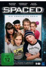 Spaced - Staffel 1+2: Folge 01-14  (OmU) [2 DVDs] DVD-Cover