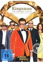 Kingsman - The Golden Circle DVD-Cover