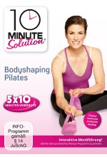 10 Minute Solution - Bodyshaping Pilates DVD-Cover