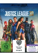 Justice League Blu-ray 3D-Cover