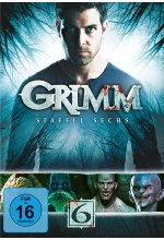 Grimm - Staffel 6  [4 DVDs] DVD-Cover