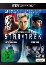 Star Trek - 3-Movie Collection  (4K Ultra HD) (3 Blu-ray 4K) (+ 3 Blu-ray 2D) Cover