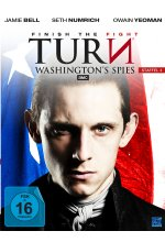 Turn - Washington's Spies - Staffel 4  [4 DVDs] DVD-Cover