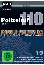 Polizeiruf 110 - Box 19: 1991 - DDR TV-Archiv  [3 DVDs] DVD-Cover