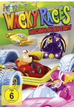 Wacky Races: Maschinen an den Start - Staffel 1, Teil 1<br> DVD-Cover