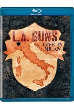 L.A. Guns - Live In Milan Blu-ray-Cover