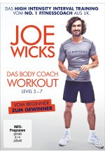 Joe Wicks - Das Body Coach Workout Level 5-7 (HIIT - High Intensity Interval Training) DVD-Cover