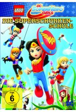 DC Super Hero Girls - Die Superschurken-Schule DVD-Cover