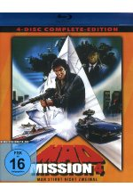 Mad Mission 4 - Uncut - 4 Disc Complete-Edition (2 Blu-rays + 2 DVDs) Blu-ray-Cover