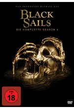 Black Sails - Season 4  [4 DVDs] DVD-Cover