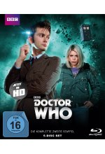 Doctor Who - Die komplette 2. Staffel - Folge 14-26 + Pilotfilm - Limited Edition  [5 BRs] Blu-ray-Cover