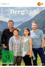 Der Bergdoktor - Staffel 11  [3 DVDs] DVD-Cover