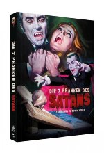 Die 7 Pranken des Satans - 2-Disc Limited Collector's Edition Nr. 14<br>(Blu-ray + DVD) - Limitiertes Mediabook auf 666 St Blu-ray-Cover